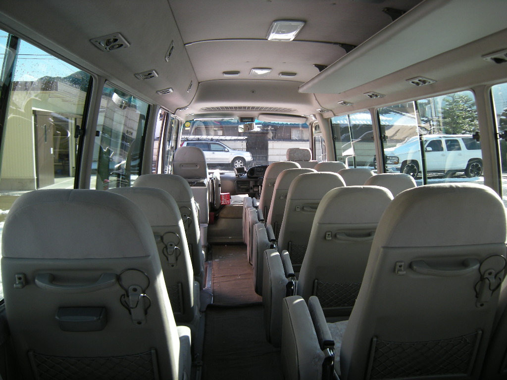 Coaster Bus Long Body 29 Seats Ex Automatic